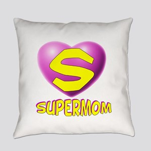 supermom new2 Everyday Pillow