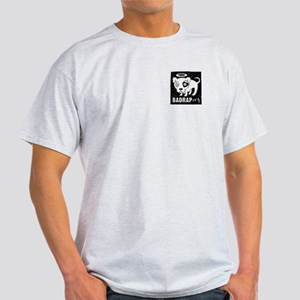 Bad Rap Logo Ash Grey T-Shirt