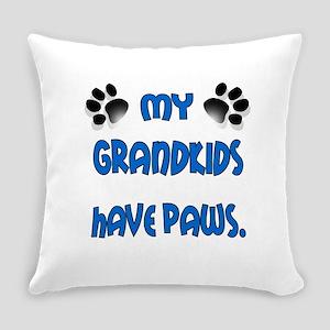 grandkids paws1 Everyday Pillow