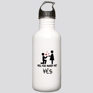 will you marry me Stainless Water Bottle 1.0L