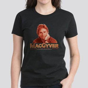 MacGyver: Reddish Women's Dark T-Shirt