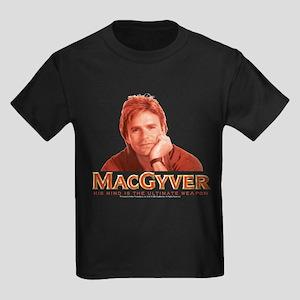 MacGyver: Reddish Kids Dark T-Shirt