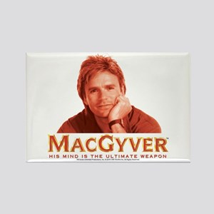 MacGyver: Reddish Rectangle Magnet