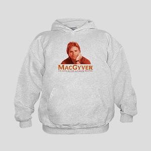 MacGyver: Reddish Kids Hoodie