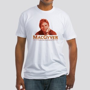 MacGyver: Reddish Fitted T-Shirt