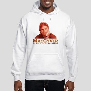 MacGyver: Reddish Hooded Sweatshirt