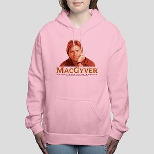 MacGyver: Reddish Women's Hooded Sweatshirt