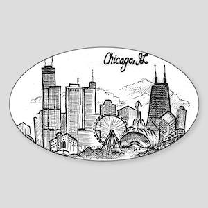 landmarks clean Sticker