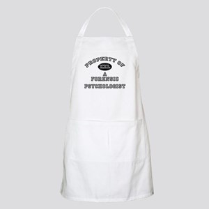 Property of a Forensic Psychologist BBQ Apron