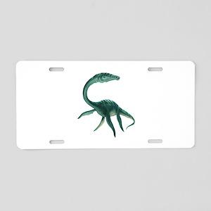 Plesiosaurus Dinosaur Aluminum License Plate