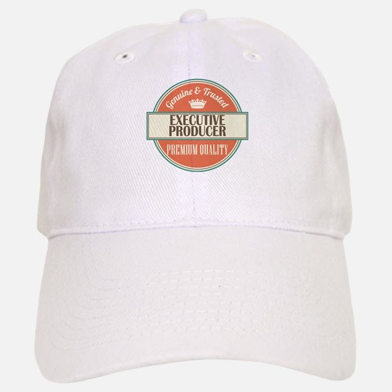 executive producer vintage logo Baseball Baseball Cap