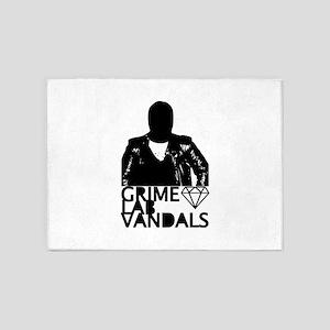 Grime Lab Vandals 5'x7'Area Rug