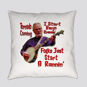 Tornado Banjo Everyday Pillow