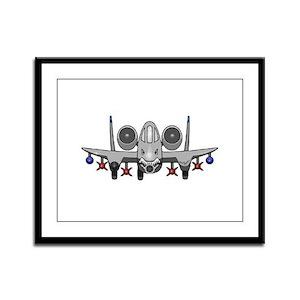 Warthog Framed Panel Print