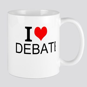 I Love Debate Mugs