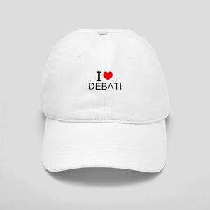 I Love Debate Baseball Cap
