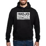 Black With Mojo Gypsies Boxed Type Hoodie (dark)