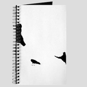 Comoros Silhouette Journal