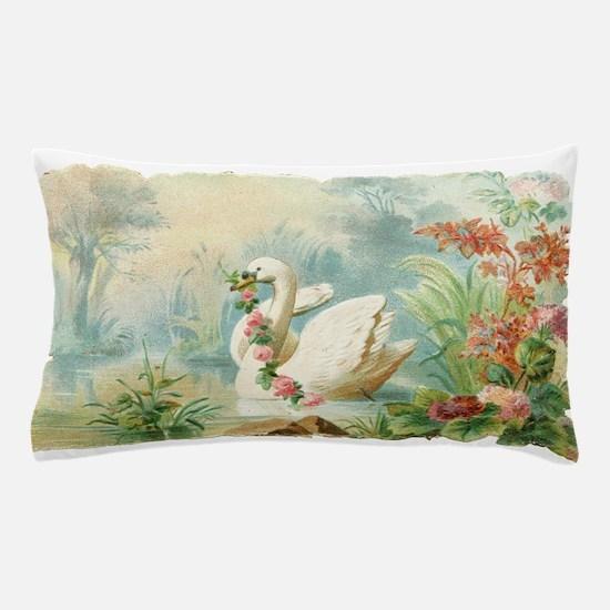 Swan Bird Pillow Case