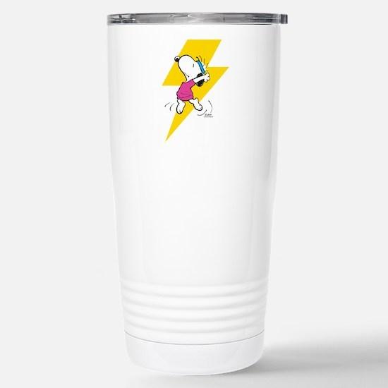 Peanuts Snoopy Dance Li Stainless Steel Travel Mug