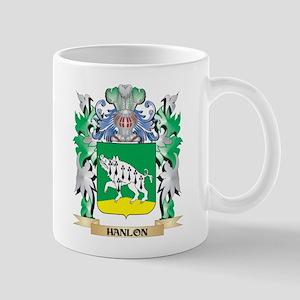 Hanlon Coat of Arms (Family Crest) Mugs