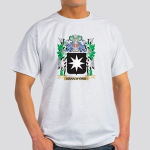 Hannaford Coat of Arms (Family Crest) T-Shirt