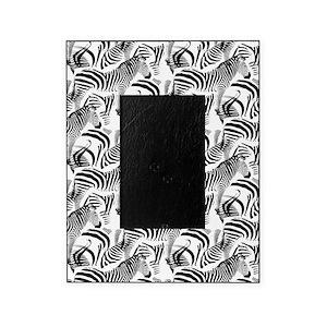 Black And White Zebra Picture Frames Cafepress