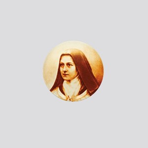 St. Therese Mini Button