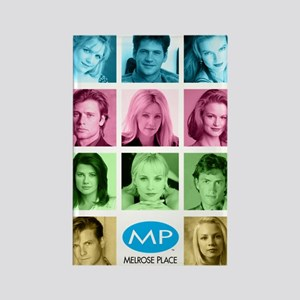 Melrose Place Cast Rectangle Magnet