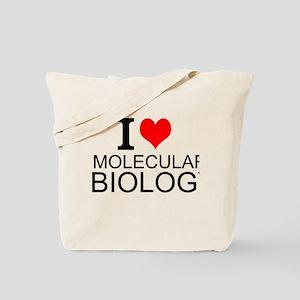 I Love Molecular Biology Tote Bag
