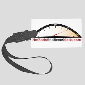 Hot Rod logo Luggage Tag