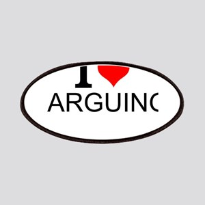I Love Arguing Patch