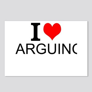 I Love Arguing Postcards (Package of 8)