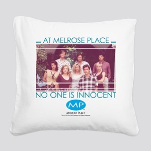 No One is Innocent Square Canvas Pillow
