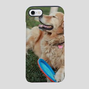 Nala the golden retriever pl iPhone 8/7 Tough Case
