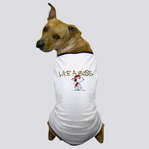 Peanuts Snoopy Like A Boss Dog T-Shirt