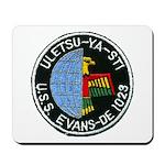 USS EVANS Mousepad