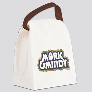 Mork and Mindy Logo Canvas Lunch Bag