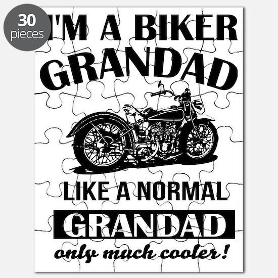 Funny Biker Puzzle