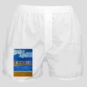Beach Hut Beach Boxer Shorts