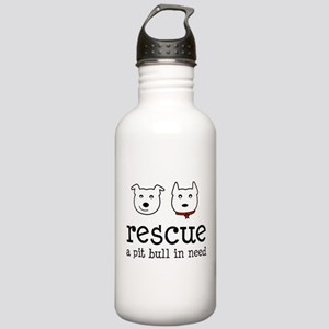 Rescue a Pit Bull Stainless Water Bottle 1.0L