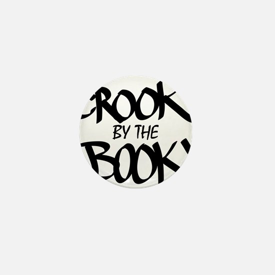 Crook by the Book Mini Button