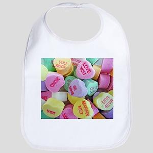 Candy Hearts Bib