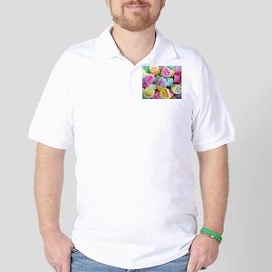 Candy Hearts Golf Shirt