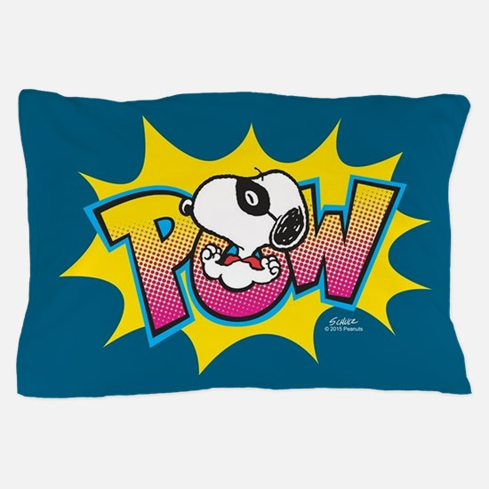 Peanuts Snoopy Pow Pillow Case