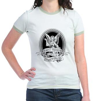 Saint Felicia Jr. Ringer T-Shirt