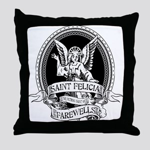 Saint Felicia Throw Pillow