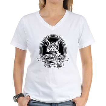 Saint Felicia Women's V-Neck T-Shirt