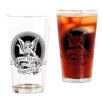 Saint Felicia Drinking Glass