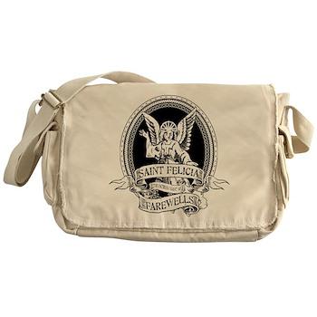 Saint Felicia Canvas Messenger Bag